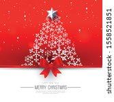 christmas banner. background... | Shutterstock .eps vector #1558521851