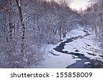 Sawmill Creek Winds It's Icy...