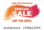modern flash sale discount... | Shutterstock .eps vector #1558622594