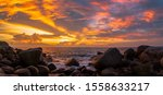 Panorama Sunset At Laem Sai...