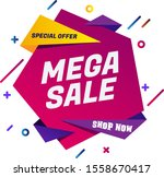 sale banner template design ... | Shutterstock .eps vector #1558670417