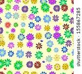 seamless texture | Shutterstock .eps vector #155867285