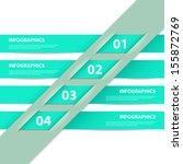 modern design infographics... | Shutterstock .eps vector #155872769