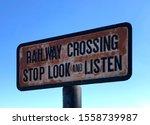 Weathered Old Rusty Railroad...