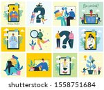 vector illustration of concept... | Shutterstock .eps vector #1558751684