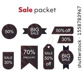 collection of sale discount....   Shutterstock .eps vector #1558783967