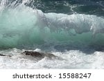 Impact Of Large Waves Against...
