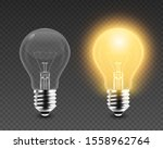 vector 3d realistic turning on... | Shutterstock .eps vector #1558962764