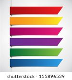 set labels. vector.  | Shutterstock .eps vector #155896529