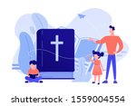 tiny people  kids boy and girl...   Shutterstock .eps vector #1559004554