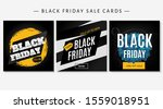 black friday design templates.... | Shutterstock .eps vector #1559018951