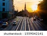 Traffic In Szczecin During A...