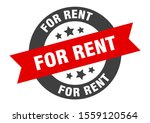 for rent sign. for rent black... | Shutterstock .eps vector #1559120564