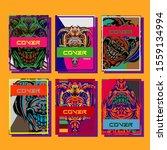 creative brochure templates...   Shutterstock .eps vector #1559134994