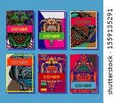creative brochure templates...   Shutterstock .eps vector #1559135291