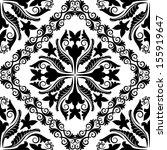 baroque pattern seamless   Shutterstock .eps vector #155919647