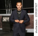"""Small photo of Los Angeles, CA - October 24, 2019: Jesse Williams arrives for the Premiere Of Netflix's """"The Irishman"""" held at TCL Chinese Theatre"""