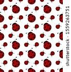 Ladybug Or Ladybird Seamless...