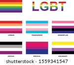 lgbt community flags. abstract... | Shutterstock .eps vector #1559341547