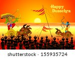 vector illustration of rama... | Shutterstock .eps vector #155935724