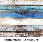 Ocean Colored Wooden Panels...