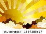 cloud background illustration... | Shutterstock .eps vector #1559385617