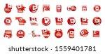 canada flag  vector...   Shutterstock .eps vector #1559401781