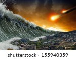 apocalyptic dramatic background ...   Shutterstock . vector #155940359