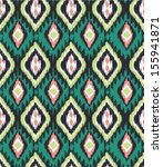 seamless ethnic  vector print... | Shutterstock .eps vector #155941871
