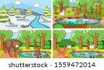 background scenes of animals in ... | Shutterstock .eps vector #1559472014