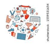 soccer football world... | Shutterstock .eps vector #1559531654