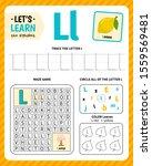 kids learning material.... | Shutterstock .eps vector #1559569481