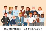 set of business people group... | Shutterstock .eps vector #1559571977