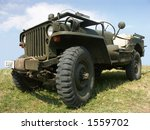Old Us Army Jeep