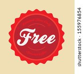 vintage style vector badge logo ...   Shutterstock .eps vector #155976854