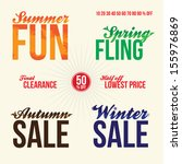 promotional vintage typography...   Shutterstock .eps vector #155976869