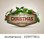 vector realistic illustration... | Shutterstock .eps vector #155977811
