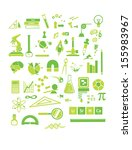 chemistry  physics and math...   Shutterstock . vector #155983967