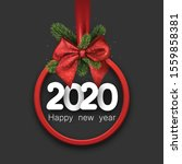 2020 happy new year background... | Shutterstock .eps vector #1559858381