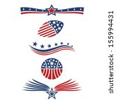usa star flag icon design... | Shutterstock .eps vector #155994431