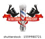 tattoo studio and barber shop... | Shutterstock .eps vector #1559980721
