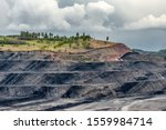 A Large Quarry With Many...