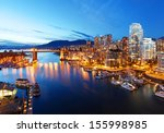 Stock photo the city of vancouver in canada 155998985