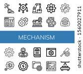 mechanism simple icons set....   Shutterstock .eps vector #1560027911