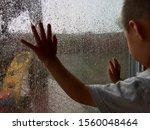 Indoor Rainy Day. Small Hands...