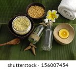 green leaf texture and health... | Shutterstock . vector #156007454