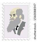 charles darwin famous scientist ...   Shutterstock .eps vector #1560088547