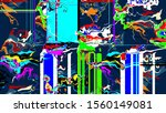 colorful abstract background...   Shutterstock . vector #1560149081