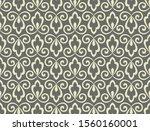 flower geometric pattern.... | Shutterstock .eps vector #1560160001