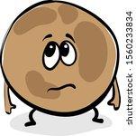 sad pluto planet  illustration  ...   Shutterstock .eps vector #1560233834